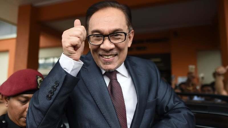 Anwar Ibrahim. (AFP)