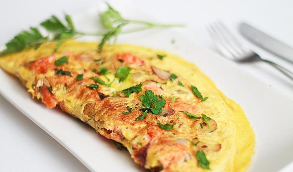 Omelet Ikan