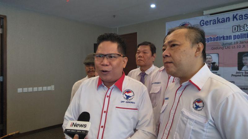 Ketua Umum Gerkindo Efraim Yerry Tawalujan. Foto Okezone