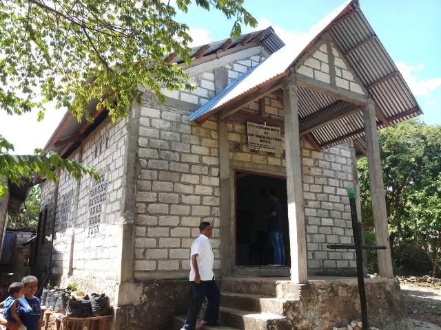 Gereja GKRI Ebenhaezer Maulafa. Foto dok Gerkindo