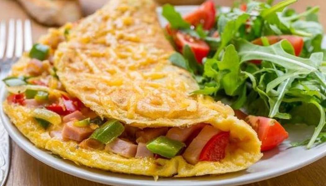 Omelet Ayam