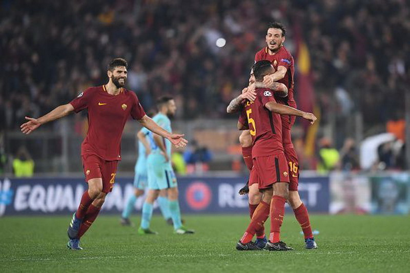 AS Roma vs Barcelona