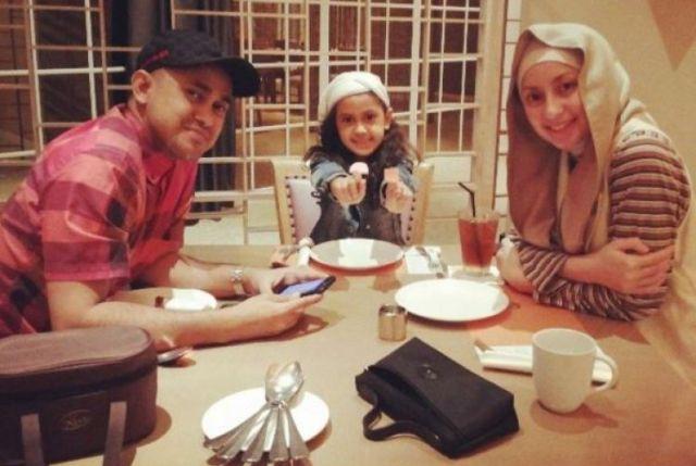 Asila Maisa dan keluarga. (Foto: Ist)
