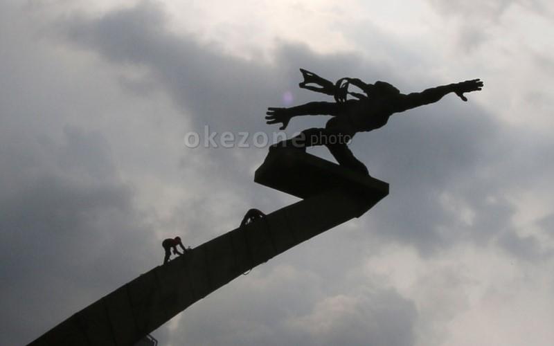 Patung Pancoran (Okezone)