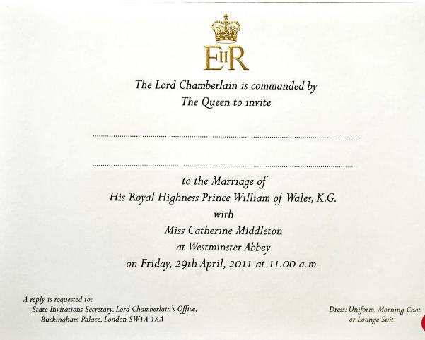 Simpel Dan Berkelas Ini Ragam Bentuk Undangan Royal Wedding