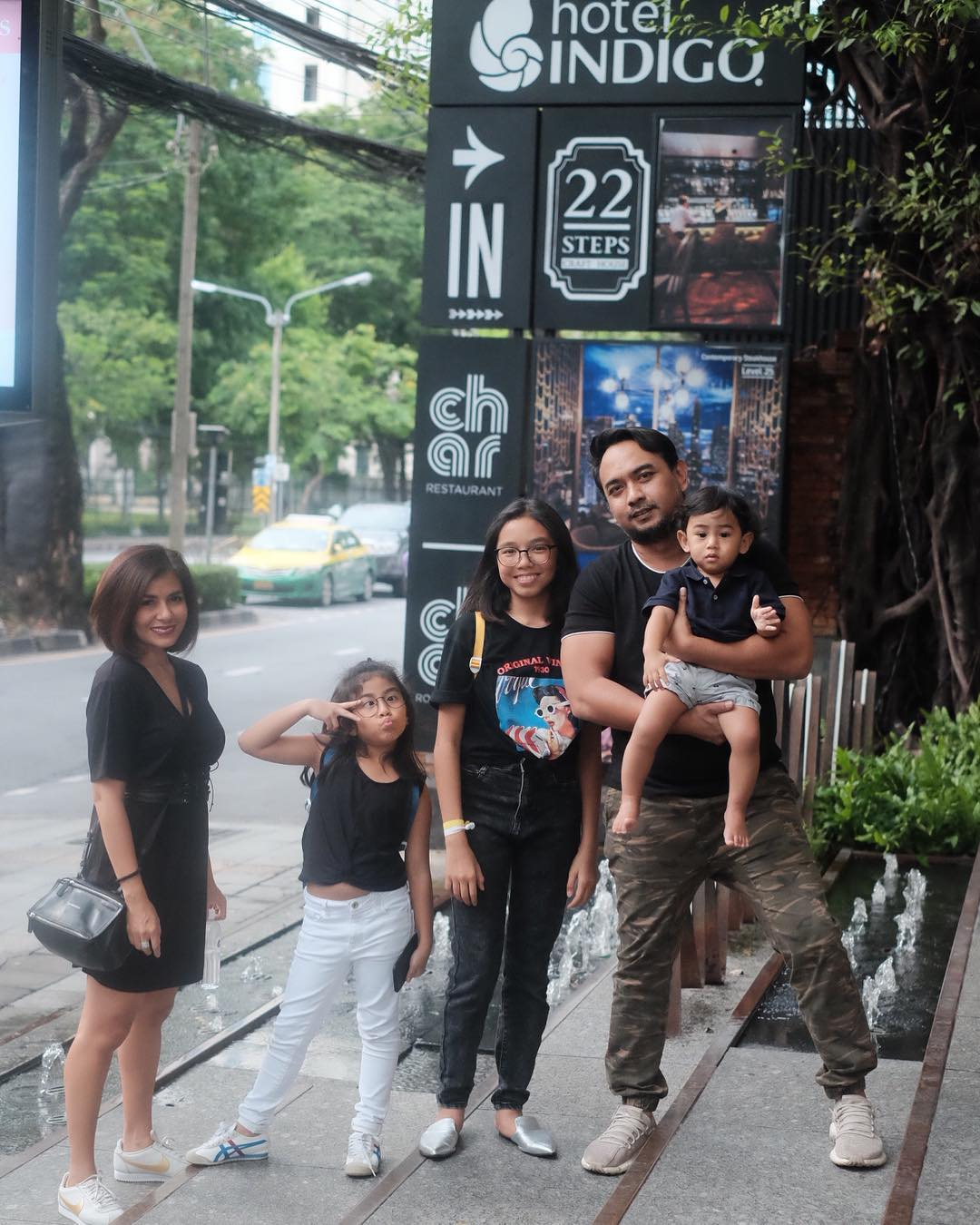 Keluarga Bebi & Meisya Siregar, Foto: Instagram