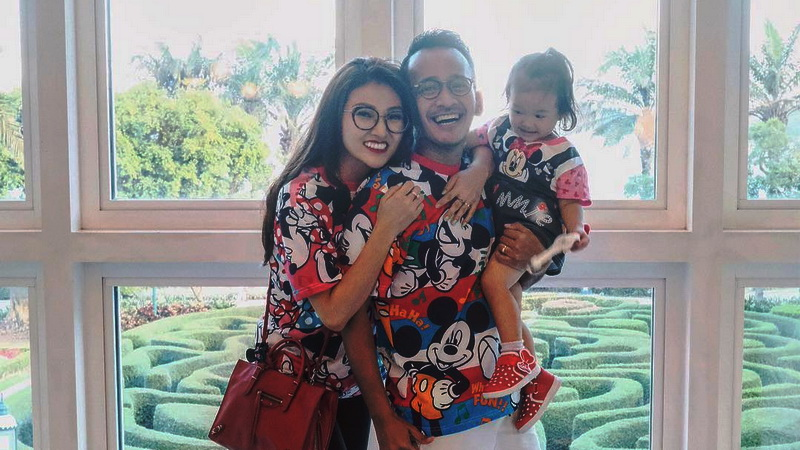 Sarwendah, Thalia, dan Ruben