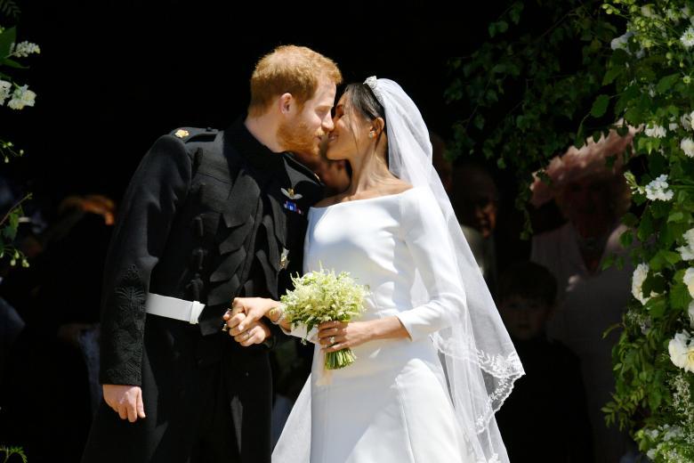 Harry dan Meghan, Foto: Reuters