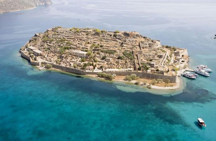Spinalonga Yunani (Wonderlist)