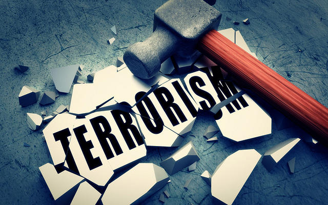 Ilustrasi terorisme.