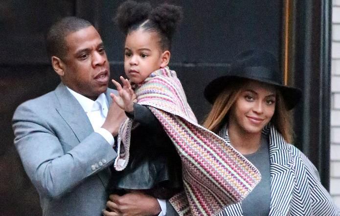 Beyonce, Jay Z, dan Blu Ivy