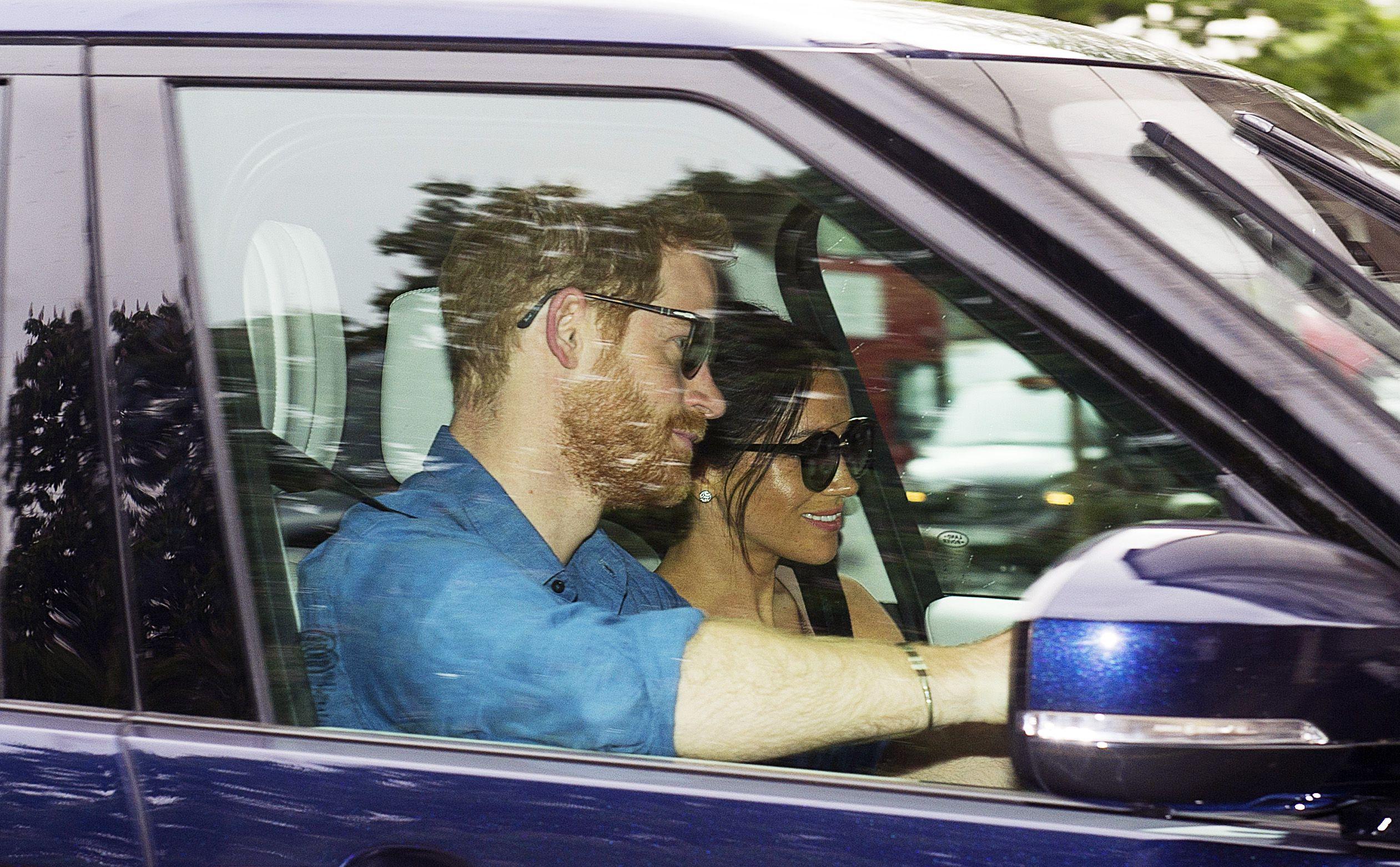 Pangeran Harry dan Meghan Markle (Elle)