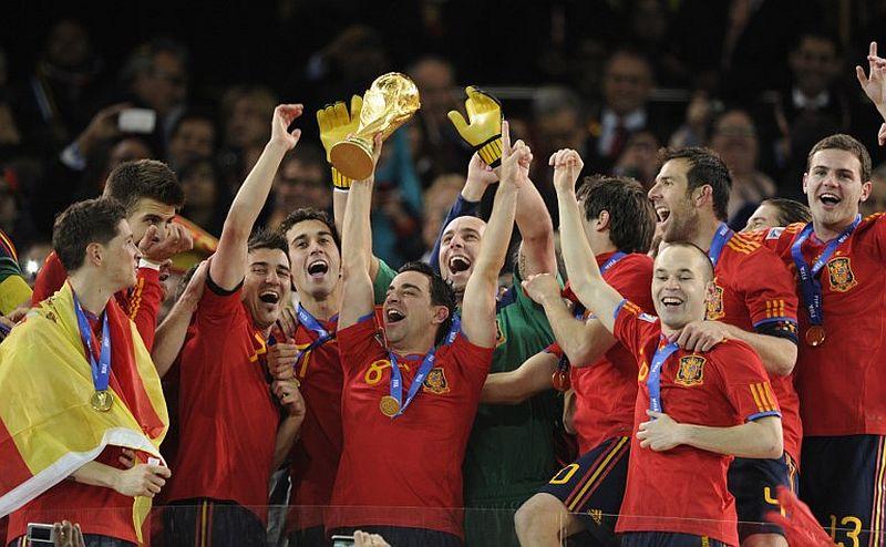 Timnas Spanyol juara dunia 2010