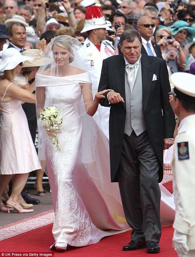 Putri Charlene dari Monaco (Daily Mail)