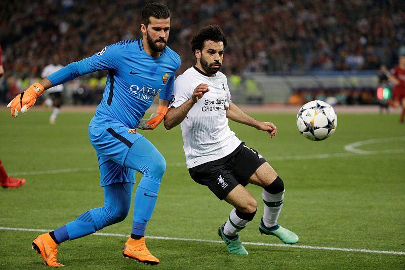 Alisson Becker vs Mohamed Salah