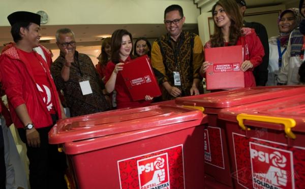 Partai Solidaritas Indonesia/PSI (foto: Antara)