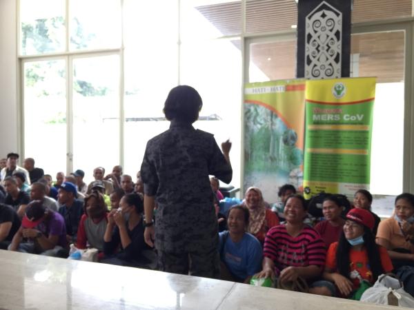 TKI ilegal dideportasi dari Malaysia. Foto: Utami/Okezone