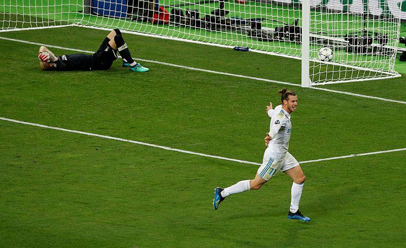 Loris Karius dan Gareth Bale