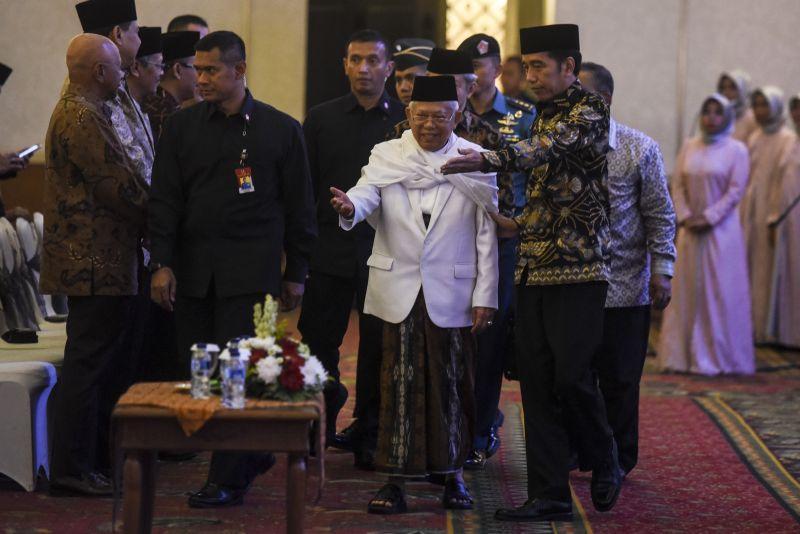 Jokowi dan KH Ma'ruf Amin