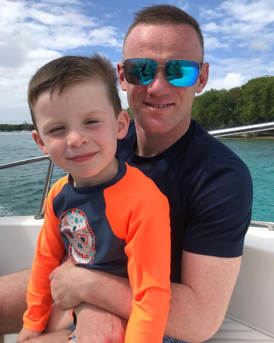 Wayne Rooney Family (Instagram)