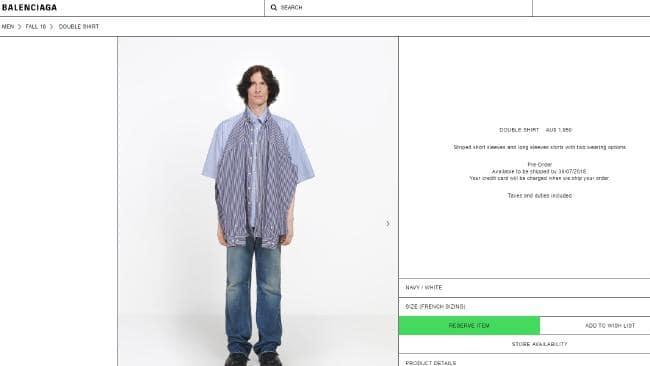 Baju Balenciaga (News)
