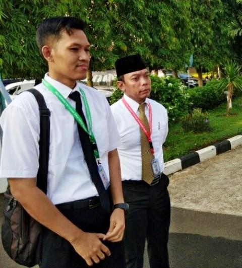 Penghulu Muhammad Bakri dapat penghargaan naik haji. (Foto: Amril Amarullah/Okezone)