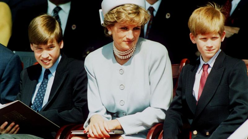 Diana, William dan Harry (Thedailybeast)