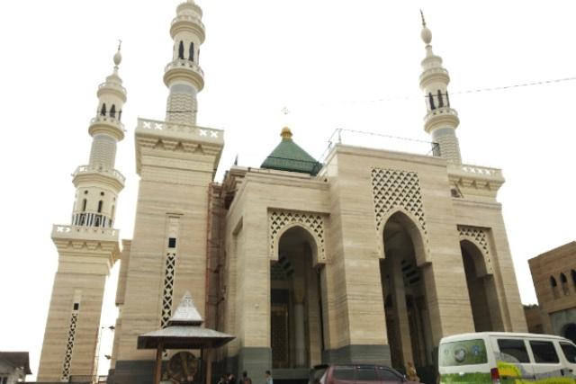 Masjid Suciati Saliman. (Foto: Harian Jogja)