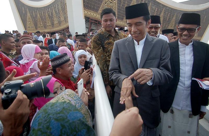 Jokowi. Foto: Antara