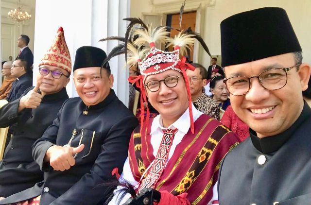 Ketua DPR Bamsoet hadiri perayaan Hari Pancasila di Kemenlu