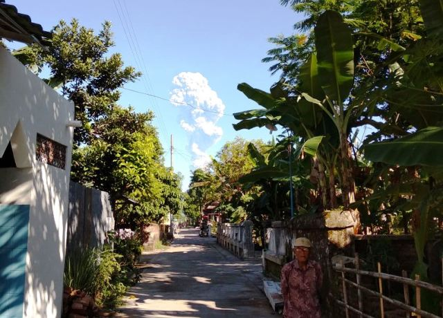 Merapi erupsi. Foto: Ist