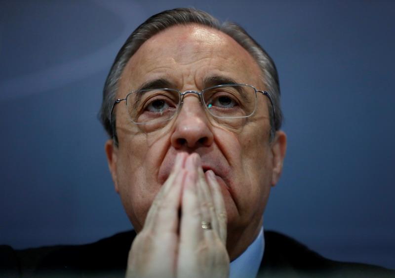 Presiden Real Madrid Florentino Perez