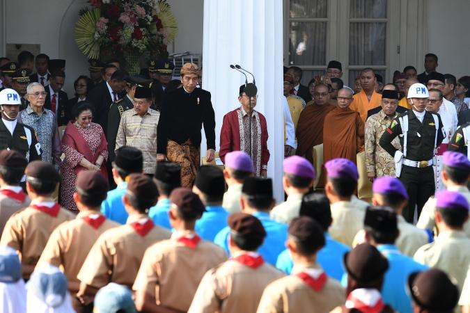 Presiden Jokowi peringati Hari Pancasila