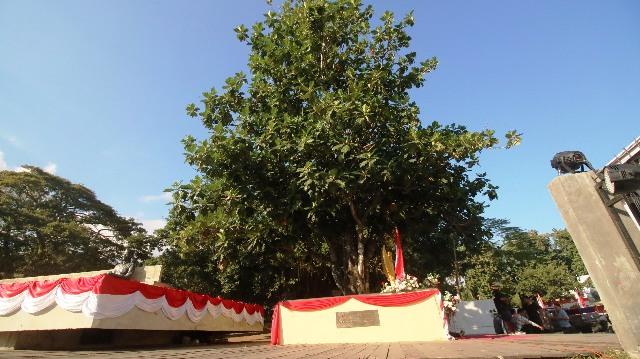 Soekarno dan Pohon Sukun