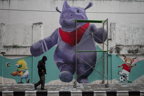 Mural Asian Games 2018