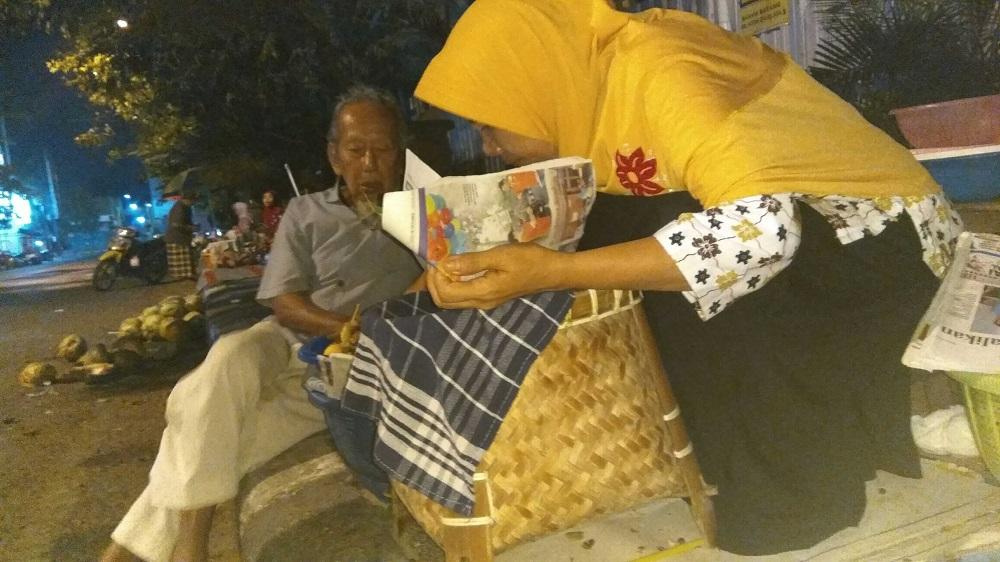 Penjual Nasi Boran