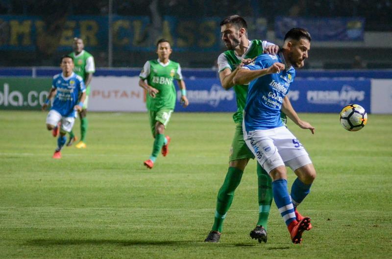 Persib vs Bhayangkara FC (Foto: ANTARA)