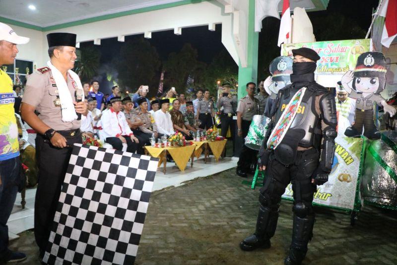 Festival Sahur-Sahur di Mempawah, Kalbar (foto: Ade P/Okezone)