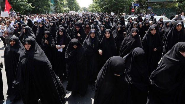 Kasus-kasus pelecehan seksual telah memicu perdebatan di antara warga Iran. (AFP)
