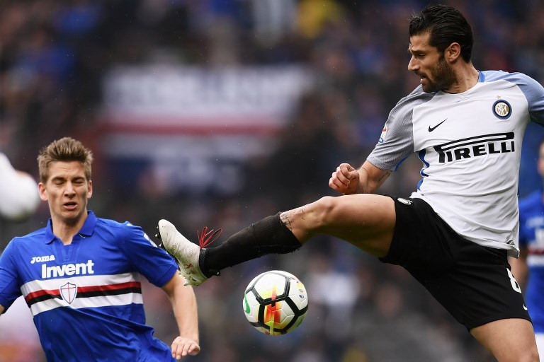 Antonio Candreva (Foto: AFP)