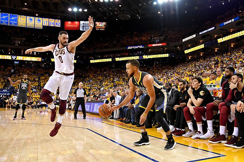 Stephen Curry vs Cleveland Cavaliers