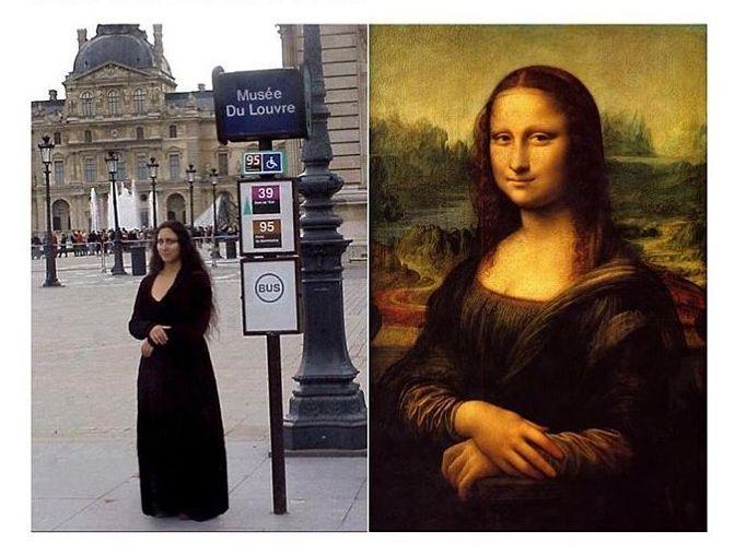 Mona Lisa (Instagram)