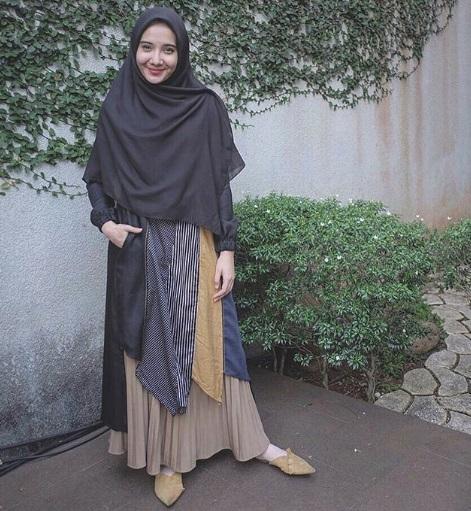 Hijab Syari Ala Zaskia Sungkar Hijabfest