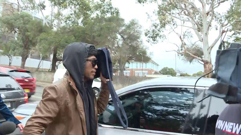 Rico Auliaputra di Pengadilan Lokal Wollongong, New South Wales, Australia (foto: 9news)