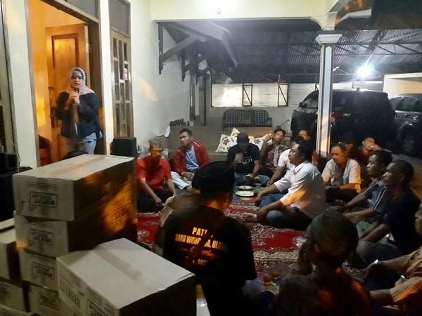 Dewi Aryani sosialisasi 4 pilar di Tegal (Foto: Istimewa)