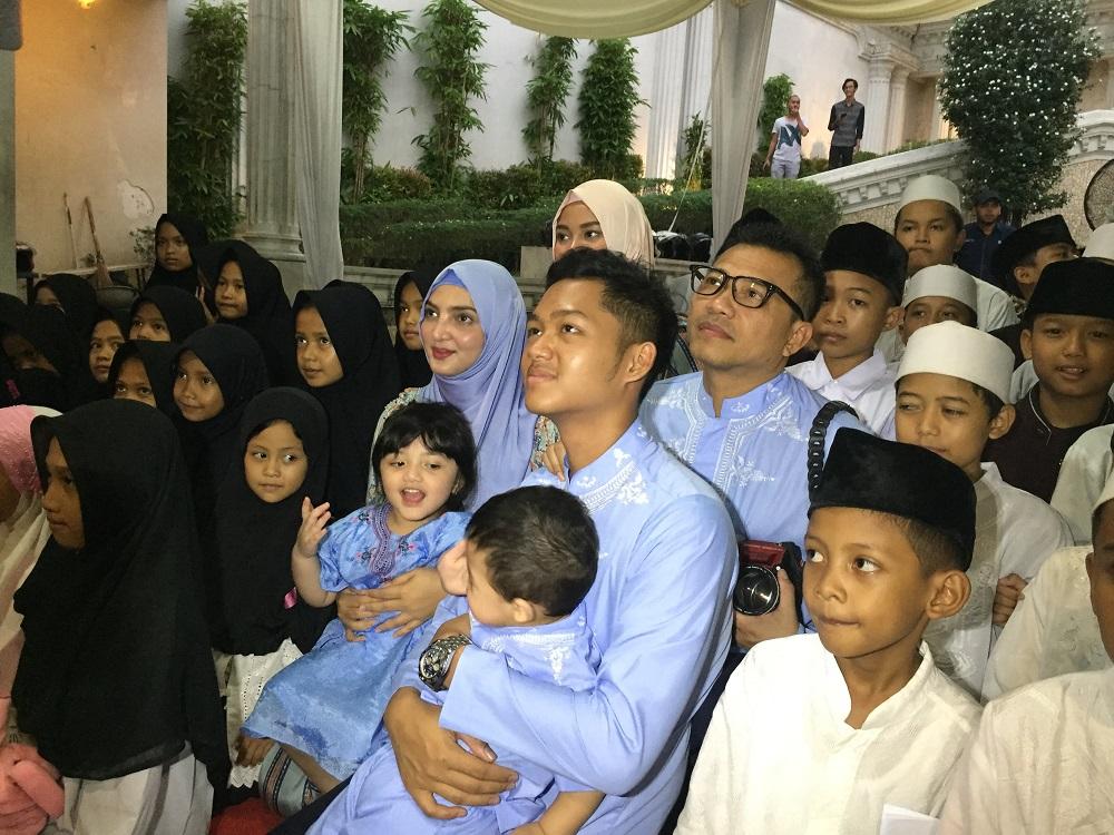 Anang Hermansyah dan Keluarga