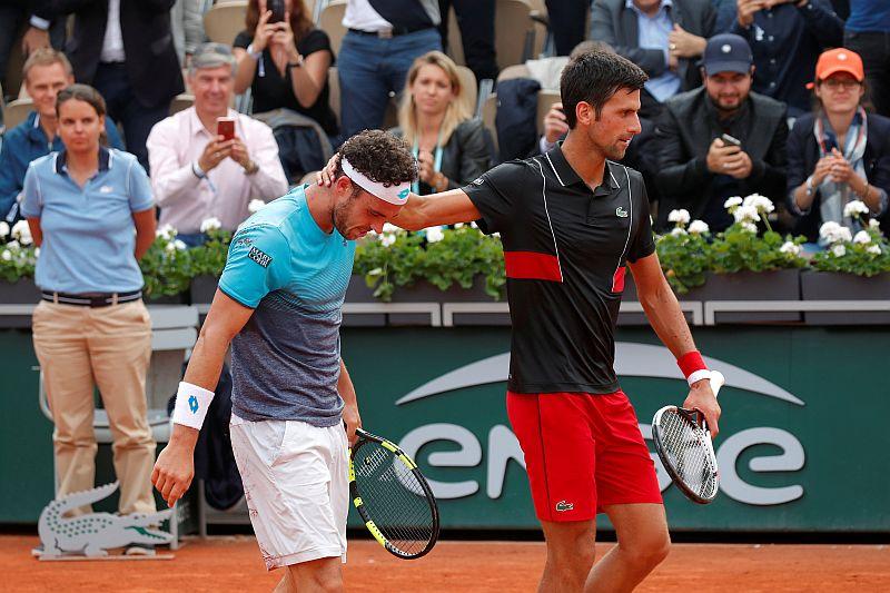 Cecchinato dan Djokovic