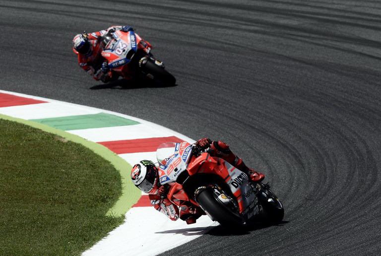 Jorge Lorenzo dan Andrea Dovizioso