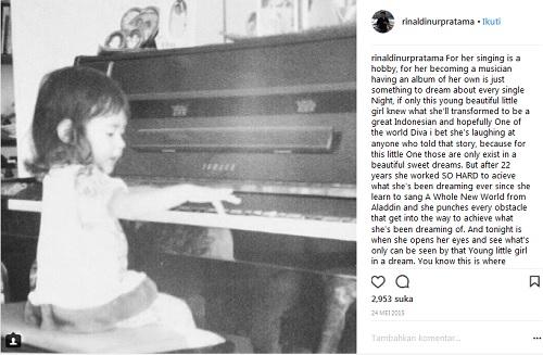 Raisa Kecil Main Piano