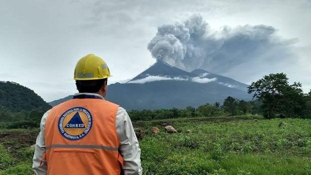 Gunung Fuego. Foto: AFP